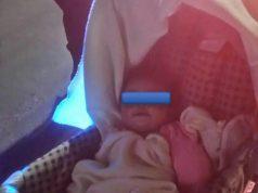 La infante, fue encontrada por unos vecinos, quienes también observaron cómo su mamá se daba a la fuga.
