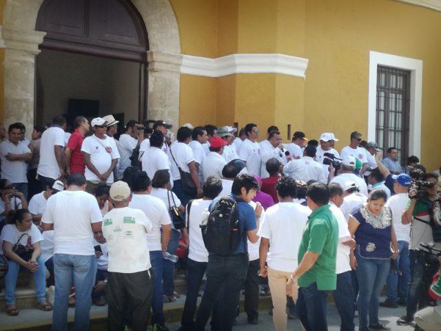 Comuna paralizará labores en Campeche