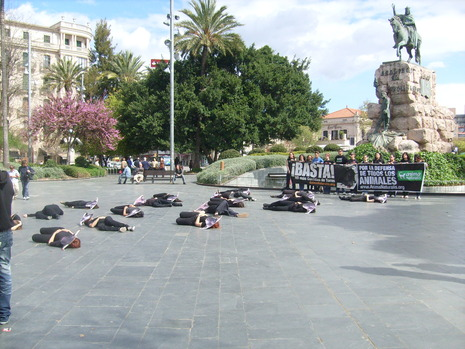 Palma_bull_fight_protest
