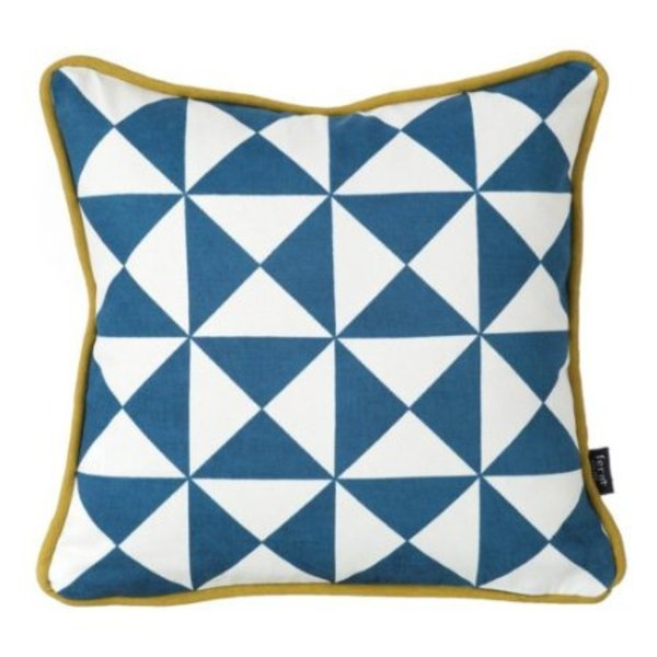 Ferm Living Little Geometry Organic Cotton Pillow