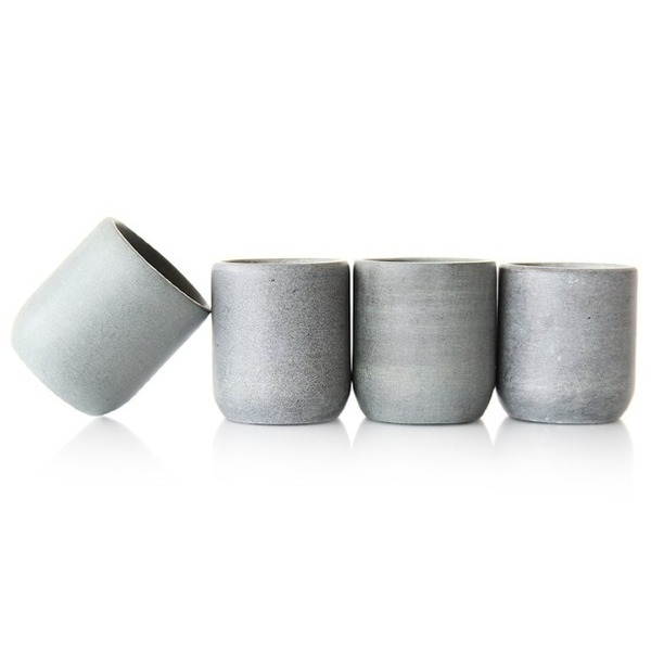 Top Shelf Living, Soapstone Shot Glasses, Set of 4