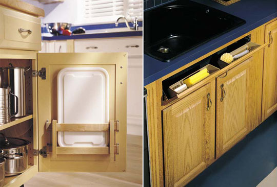 Hidden Cabinet Storage