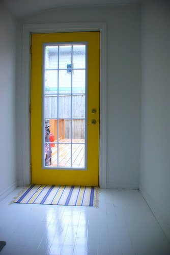 Bright Yellow Door