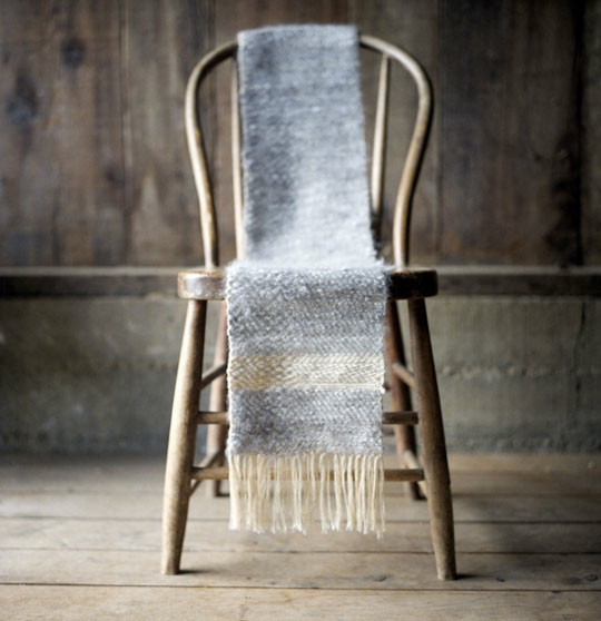 Scarf Draped Chair