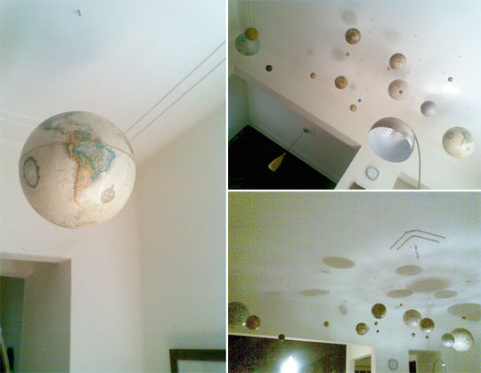 Ceiling of Globes