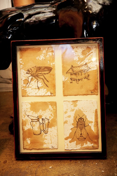Tea-stained Sketches
