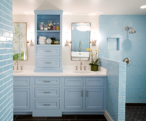Bathroom Vanity Shelving