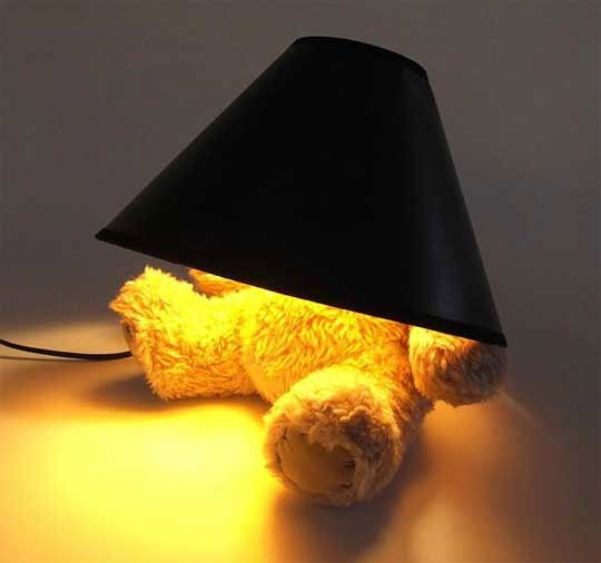 Bear with a Lamp Head