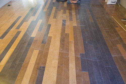 Floors with Various Woods