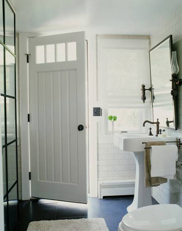 Bathroom with Outside Access