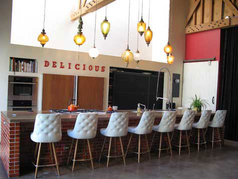 Plush Barstools
