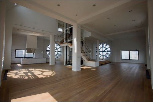 Loft in a Clock Tower