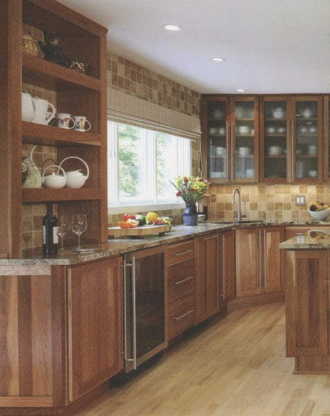 Cherry Cabinets