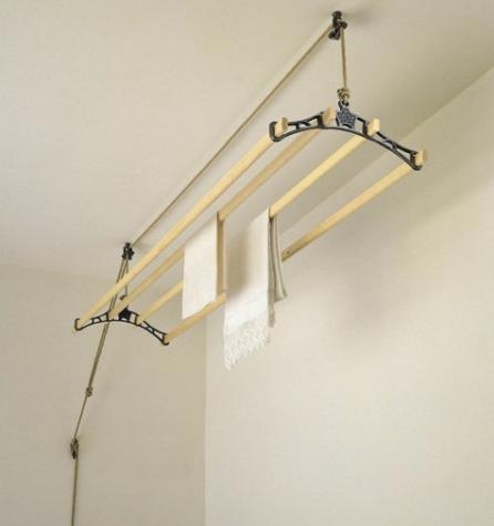 Retractable Clothing Rack