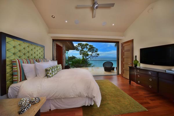 Ocean View from Bedroom Hideaway