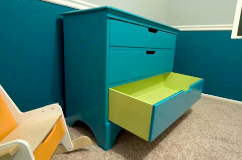 Drawers Painted Inside and Out
