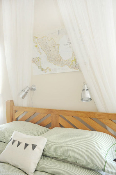 Simple Wood Headboard