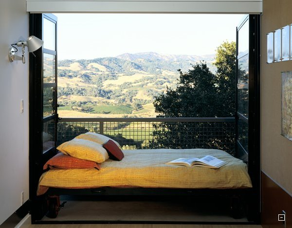 Rolling Bed Onto a Balcony