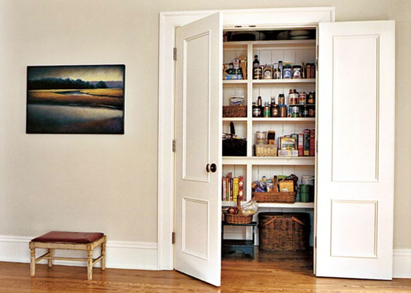 Paneled Pantry