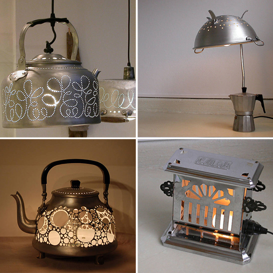 Teapot Lamps