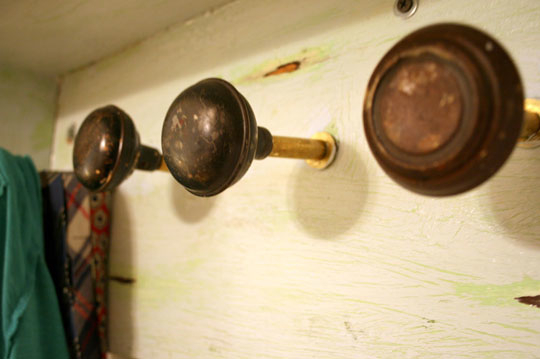 Doorknob Coat Hooks