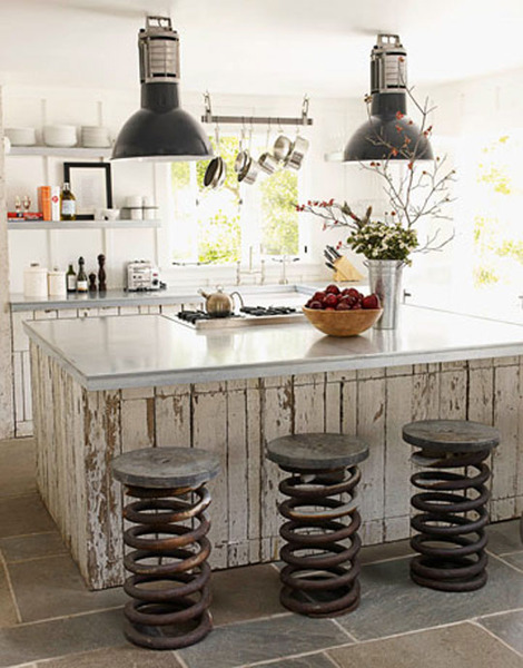 Giant Spring Barstools
