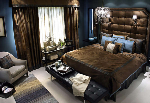 Dark Elegant Bedroom