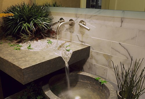 Stone Sink Waterfall