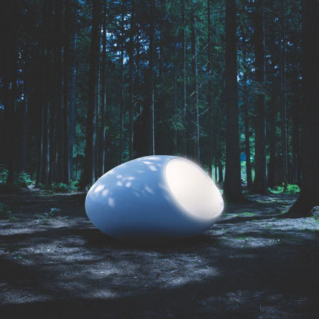Glowing Orb Hut
