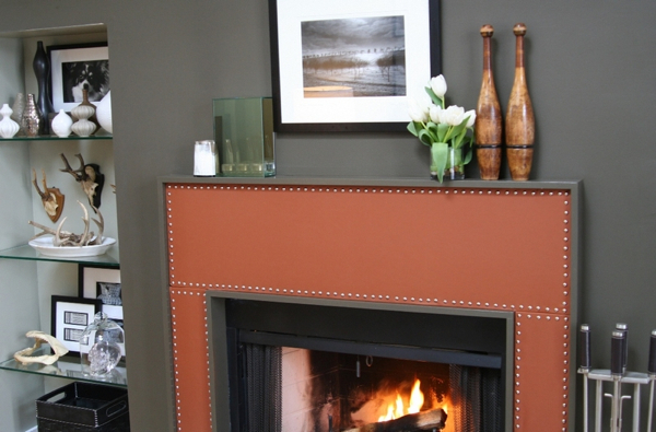 Studded Leather Mantle