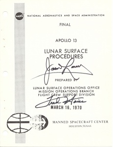 APOLLO 13 LUNAR SURFACE PROCEDURES