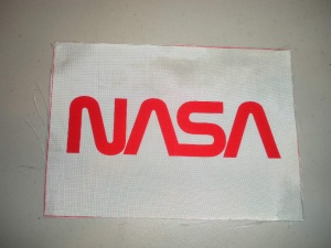 NASA Worm Beta Cloth