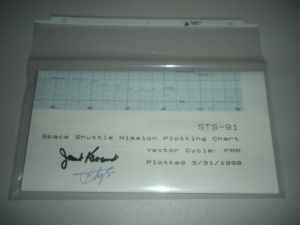 Space Shuttle Mission Charts