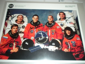 STS-88 Crew Signed Photo