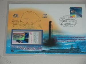 Rocket RSM-40M Trans-MilleniumRocket Stamp