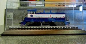 Rail King SW1500 NASA Switcher Diesel Engine