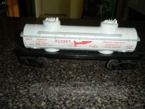 Lionel Rocket Fuel Rail Car