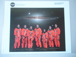 STS-109 Crew Complete signed Photo