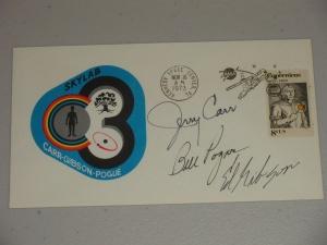 Skylab 4 Cover Crew Complete Emblem Style