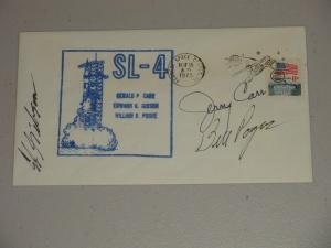 Skylab 4 Cover Crew Complete