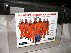 STS-125 Flight Crew Briefing for HST SM4