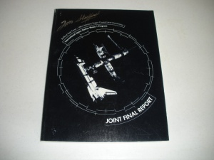 Stafford signed ISS Program Phase 1 Joint Final Report