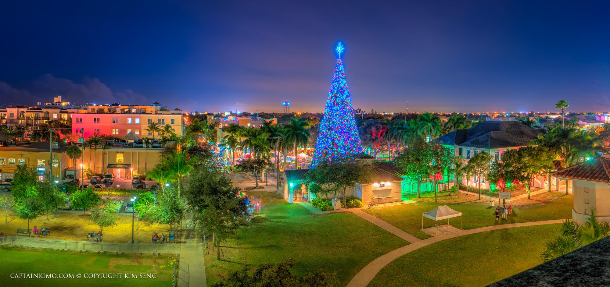 How Many Lights For A Christmas Tree Snug Harbor Drive Christmas Lights Palm Beach Gardens Top