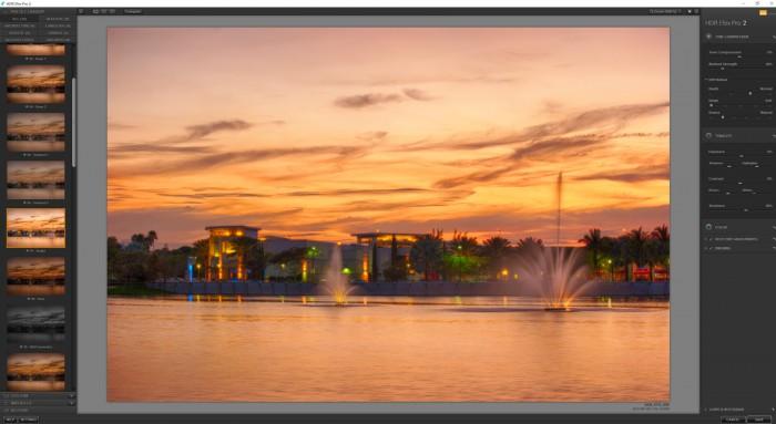 Nik HDR Efex Pro Screen Shot