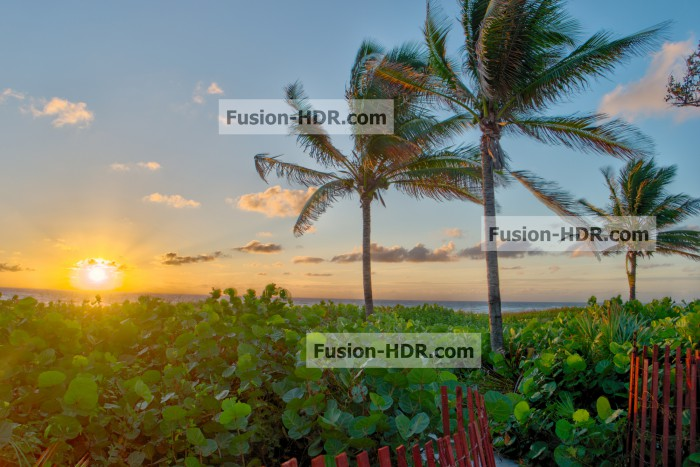 Fusion HDR Software - Example 1