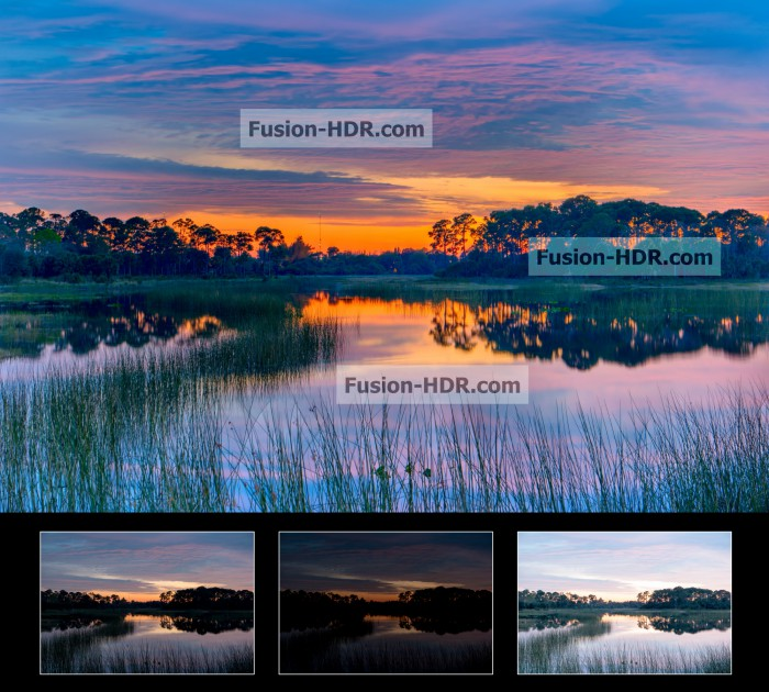 Fusion HDR Software - Example 2