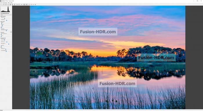 Fusion HDR Software