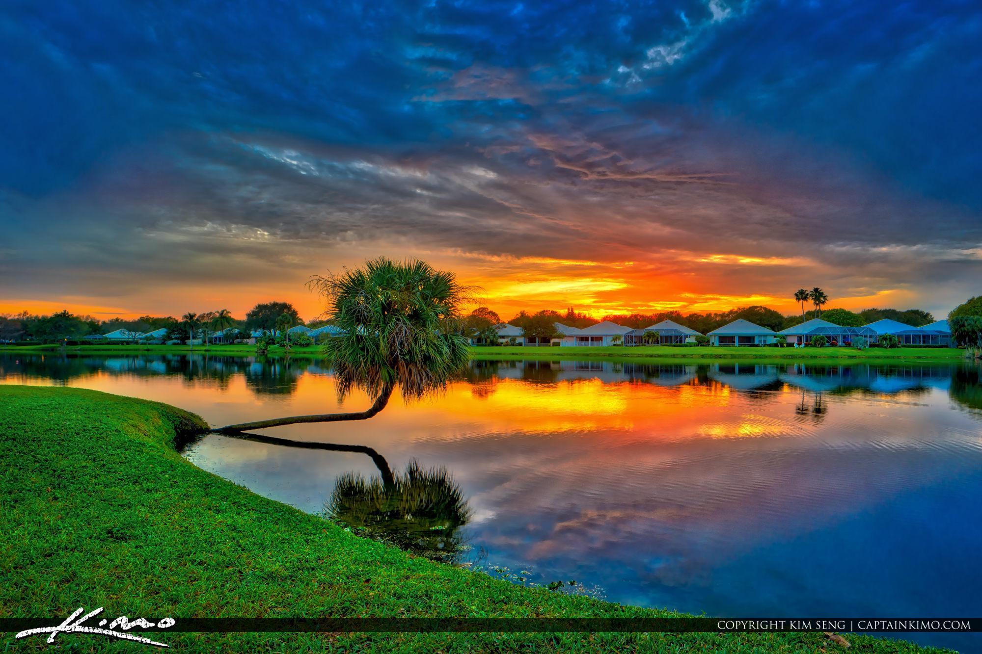 Lake Catherine Sunset PBG Florida
