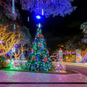 Snug Harbor Christmas Lights for 2016 in Palm Beach Gardens Florida. One of the most beauitful display of Christmas Lights in Palm Beach County.