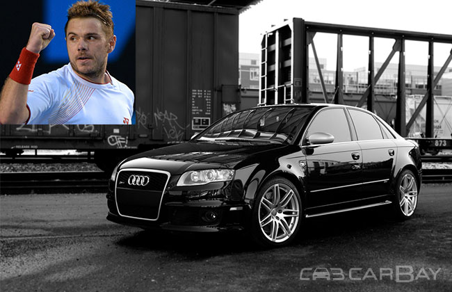 photo of Stan Wawrinka Audi - car